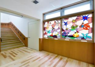 ホール側ステンドグラス